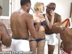 Kagney linn karter gangbanged by 4 black guys videos