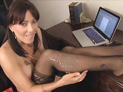 Cum on teacher sexy black stockings d10 movies at kilopics.net