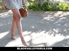 Blackvalleygirls - sexy teen steals white girls boyfriend tubes
