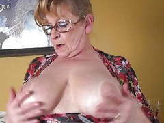 Old busty grandmother hungry for a good fuck tubes