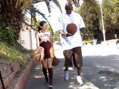 Petite teen cheerleader mae meyers fucks black dick tubes