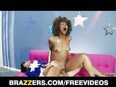 Sexy ebony babe misty stone loves to deepthroat hard cock movies at freekiloporn.com