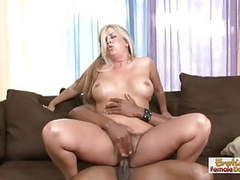 Naive blonde milf can really serve a big fat black cock movies
