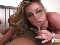 Husband lets his hot wife enjoy a big black cock tubes