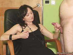 2 cumshots on maya black dress videos