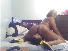 Ebony mistress facefucks black slave mouth dildo movies at sgirls.net