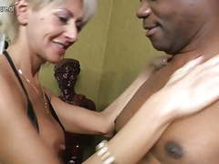 Posh mature mom takes big black cock movies at find-best-lingerie.com