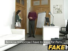Fake agent cream pie for petite black haired italian movies