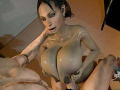 Sheva alomar tittyfuck 3d movies at find-best-tits.com