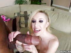 Petite blonde maia davis vs huge black cock videos