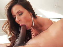 Busty kendra lust sucking and fucking black dude movies at freekilomovies.com