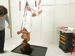 Black girl hung upside down and made to eat ass and cum movies at kilopills.com