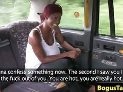Cheeky ebony blowing cabbies cock until cum videos