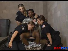 3 female cops team up on bbc videos