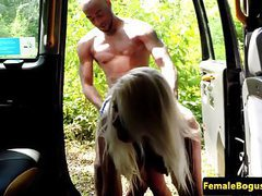 Busty british cabbie doggystyle by black guy tubes