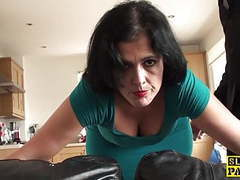 British sub roughly assfucked before facial movies