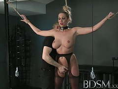 Bdsm xxx master gives blonde beauty a hardcore lesson movies