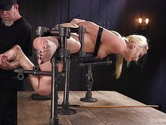 Aj applegate submits to the pope's grueling torment movies at kilotop.com