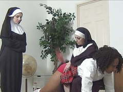 2 nuns spank ebony schoolgirl movies at find-best-tits.com