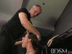 Bdsm xxx horny subs get a good slapping before hardcore anal videos