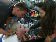 Blond slut used in public movies at freekiloporn.com