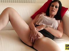 Masturbating busty brit squirting twice movies at kilovideos.com