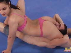 Mixed wrestling femdom fight one videos