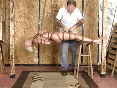 Hogtied and suspended live movies at find-best-ass.com