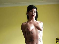 Pissing uk sub straddles the bath and pees movies at freekilosex.com