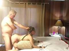 Hot submissive milf getting pounded and spanked videos