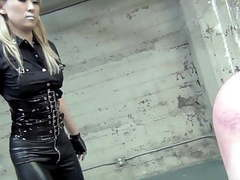 Hard whipping by blonde asian mistress (part 1 of 2) movies