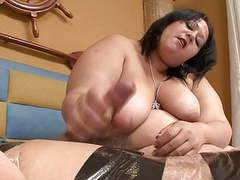 Bbw latina femdom does handjob and facessitng movies at find-best-mature.com