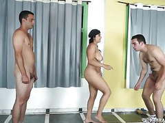 Ballbusting police recruits movies at freekiloporn.com