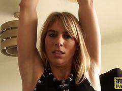 Bound brtish bdsm sub facefucked by maledom movies at find-best-lingerie.com