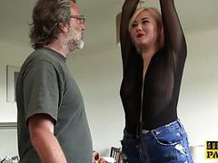 Bdsm euro spanked and slapped during roughsex videos
