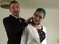 Alexxa vice double penetrated and punished in hard theeway videos