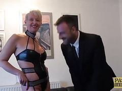 Mature british whore anally drilled hard before swallowing videos