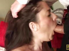Busty british sub spunked in mouth twice movies