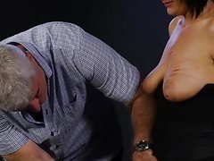Young dominatrix punishes girl with big tits videos