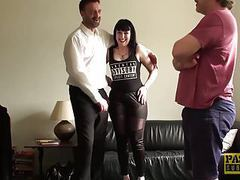 Cum tasting subslut tied up and rammed hard by maledom movies at kilopics.com
