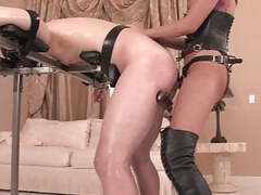 Hot mistress fucking slave in the ass movies at kilopills.com