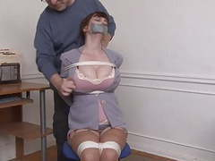 Kristine chairtied and groped videos
