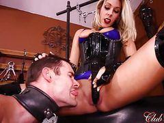 Clubdom goddess nikki brooks controls her sissy maid movies at find-best-hardcore.com