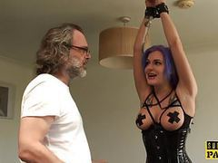 British slut analized while throating toycock movies at kilovideos.com