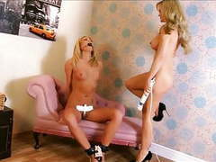 Two blond bondage babes 2 of 2 videos