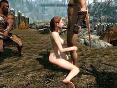 Perils of escaped skyrim slavegirl 19 movies at kilovideos.com