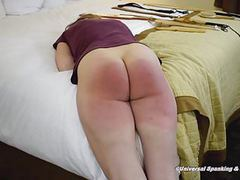 She chose a spanking! movies at dailyadult.info