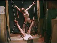 Bondage dolls - vintage captive babes in bondage bdsm videos