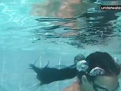Submerged underwater with a dick inside her videos