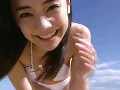 Kana cute asian girl beach angel (non-nude) tubes